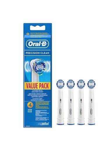 Oral-B Yedek Başlık Precision Clean 4 adet Renkli
